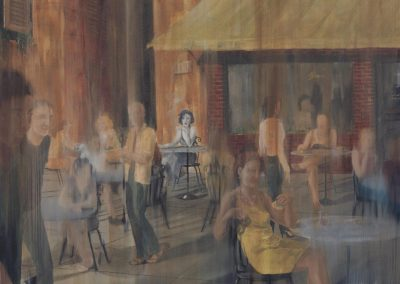 The Italian cafe
